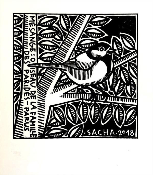 serigraphie de sacha schwarz